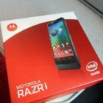 Motorola RAZR i is now getting updated to Jelly Bean