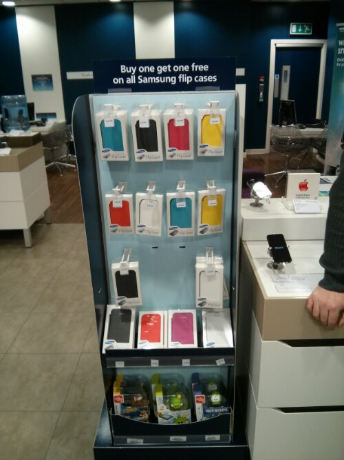 Samsung Galaxy flip cases BOGOF in O2 stores [Bargain]