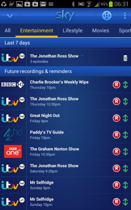 Sky App Updated Now Fully Control Your Box Coolsmartphone