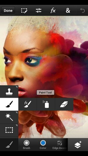 Adobe Photoshop Touch for phones is now availble