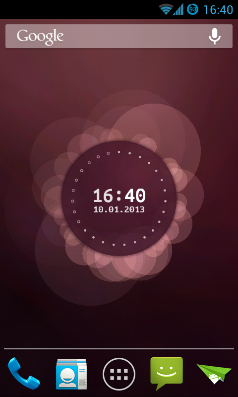 A sweet Ubuntu live wallpaper!