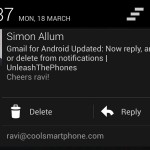Gmail for Android update brings notification actions (updated)