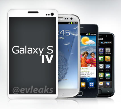 And so it starts   Samsung Galaxy S4 renders leak   Update   its a fake