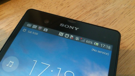 MWC   Behind the scenes. The Sony Xperia Z, our essential gadget.