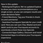 Foursquare for BlackBerry 10 updated: brings feature parity