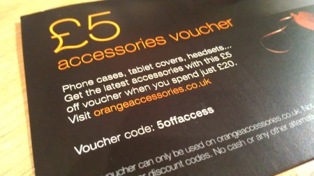 Discount available at Orange Accessories