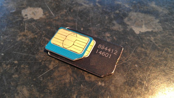 Create your own micro SIM. Just hack it with scissors.