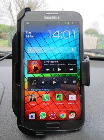 Kidigi car kit for Samsung Galaxy Note II   Review
