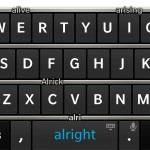 Adventures of a Blackberry virgin part 2 – the Z10 keyboard