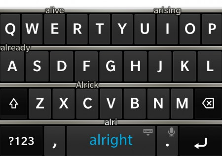 Adventures of a Blackberry virgin part 2   the Z10 keyboard