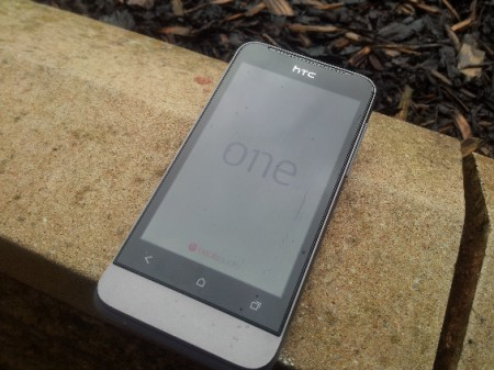 Want to win a HTC One V? Get clicking, baby