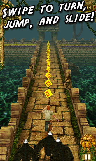 Temple Run now available for Windows Phone. Crowd goes wild?