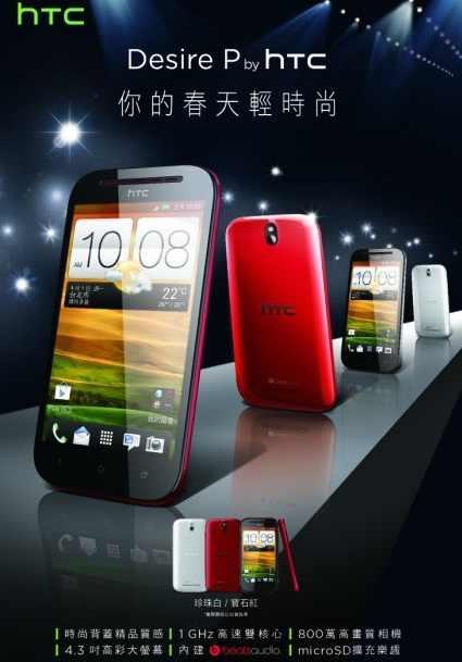 HTC Desire P & Q appear online