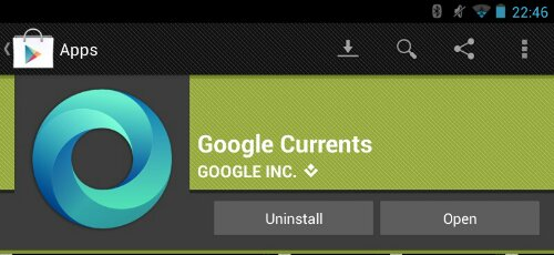 Google Currents Now Plays Audio