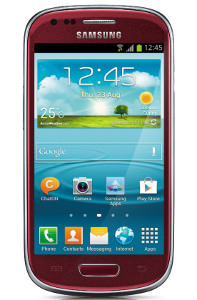 Limited Edition 'La Fleur' Samsung Galaxy S III Mini is now available at Carphone Warehouse