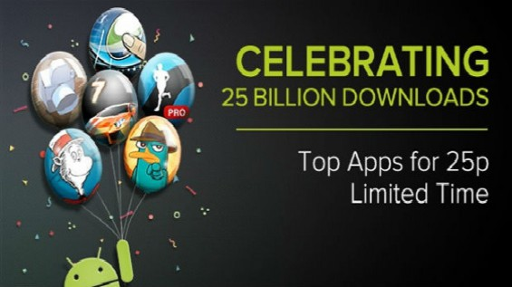 Google Play celebrates first birthday with another sale
