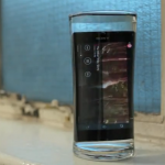 Sony Xperia Z goes for a swim