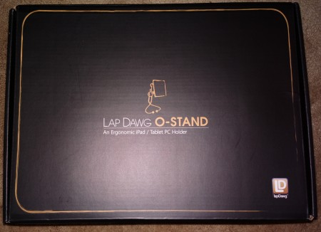 LapDawg O Stand for iPad   Review