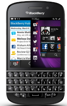BlackBerry Q10 available for pre order at Carphone Warehouse