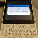 BlackBerry R10 appears in leaked image