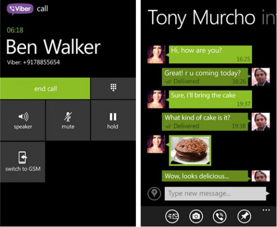 Viber for Windows Phone updated