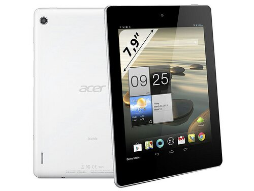The Acer Iconia A1 810 7.9 inch tablet appears online