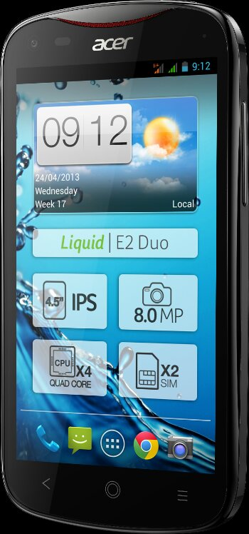 Acer announce the Liquid E2 Smartphone