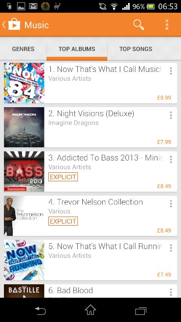 Google Play gets facelift and a makeover