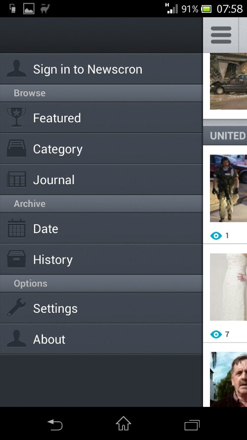 Newscron review   Your news on the go