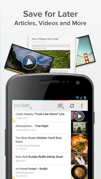 Pocket for Android gets an update