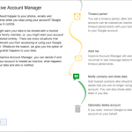 Inactive Account Manager from Google