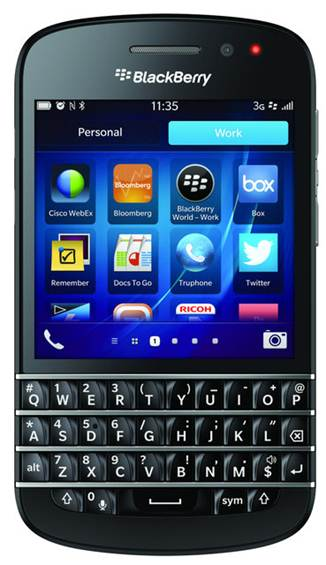 BlackBerry Q10 is now up for pre order at Vodafone