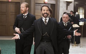 BlackBerry Q10   Get down to see Mr Selfridge, hes got loads of them