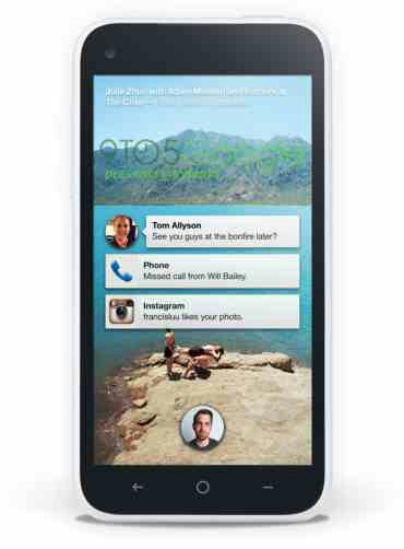 HTC First Facebook Home Screens appear on the web