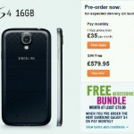 Thinking of getting the Galaxy S4? Get free stuff when you pre-order