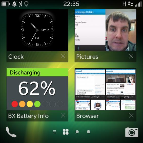 BlackBerry Q10 Widgets