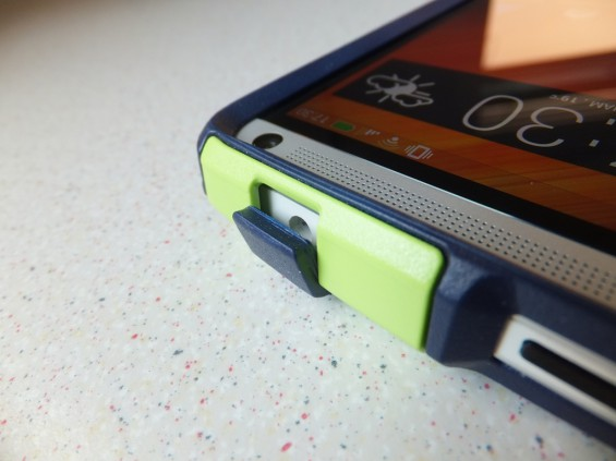 HTC One Otterbox Commuter Case Pic6
