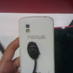 White Nexus 4 on display in Dubai – pictures, video and an apology