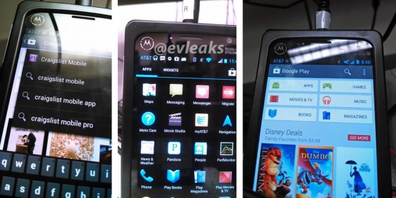 Leaked images show what could be the next generation Motorola device