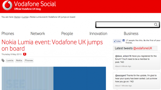 Vodafone confirm new Lumia due soon