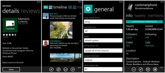 My choice of apps   Windows Phone edition #1