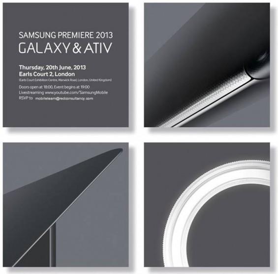 samsung galaxy and ativ event