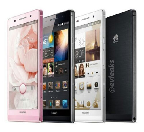 Huawei Ascend P6 leaks   updated with more colours