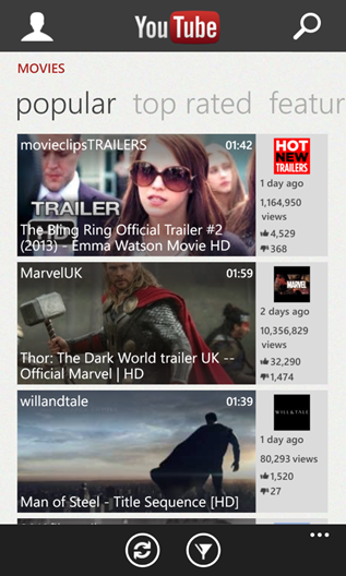 YouTube for Windows Phone amazingly gets updated