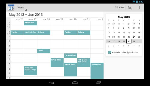 Google update their Android Calendar app