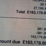 Had a big phone bill? It's nothing compared to this, but..