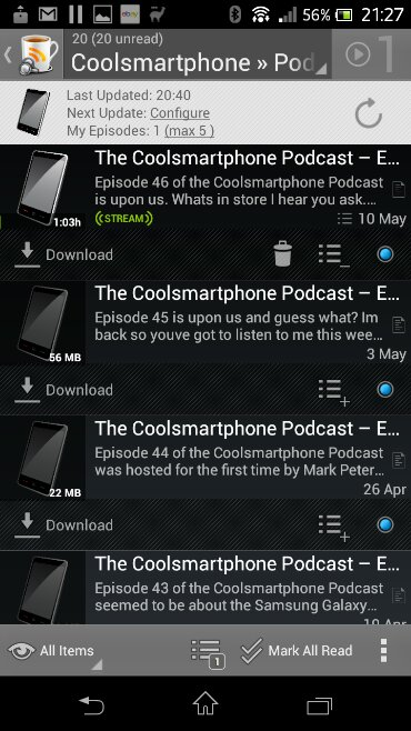 The Coolsmartphone Podcast, its proper good