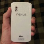 White Nexus 4 and Android 4.3 to be released 10th June