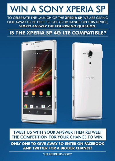 Win yourself a Sony Xperia SP