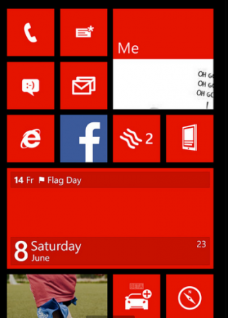 Leaked WP8 build shows notifications centre